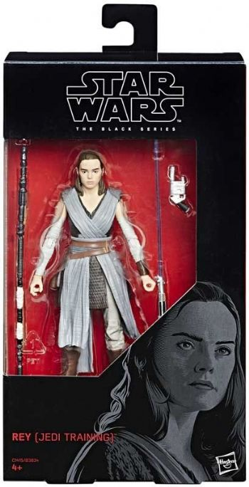 "Star Wars The Black Series Rey (Jedi Training)  6"" Action Figure"